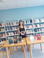 Rencontre à Oletta avec l'auteure Joëlle CHEVALIER