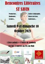 Le salon du livre de Saint-Savin